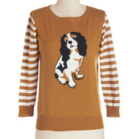 Dog Park Party Sweater | Mod Retro Vintage Sweaters | ModCloth.com