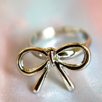 The Silver Lining Bow | Trinkettes