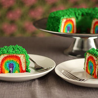 Leprechaun Trap Cake Rainbow inside Not Martha | Flickr - Photo Sharing!