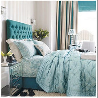 turquoise and aqua bedroom ideal home | Flickr - Photo Sharing!