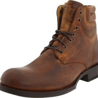 FRYE Men`s Fulton Lace Up Boot,Dark Brown,10 M US