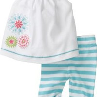 Hartstrings Baby-girls Newborn Swing Top and Legging Set