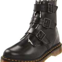 Dr. Martens Women's Billie Motorcycle Boot
