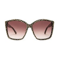House of Harlow Jordana Sunglasses in Black