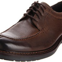 Johnston & Murphy Men`s Watts Y Oxford,Brown Burnished Italian Calfskin,9.5 M US