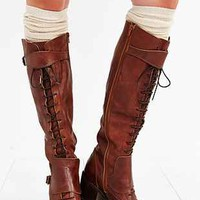 Jeffrey Campbell Lace-Up Tall Boot - Urban Outfitters
