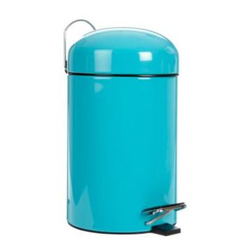 turquoise small pedal bin laundry from debenhams potty ForTurquoise Bathroom Bin