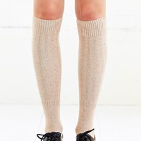 Nep Yarn Ribbed Knee-High Sock - Urban Outfitters