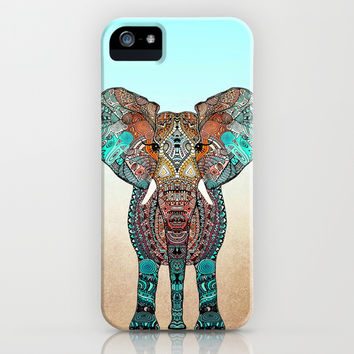 *** BOHO SUMMER ELEPHANT *** iPhone & iPod Case by Monika Strigel | Society6