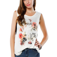 Papaya Clothing Online :: You're perfect to me Graphic top
