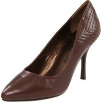 Envy Women`s Ringtone Pump,Dark Brown,8 M US
