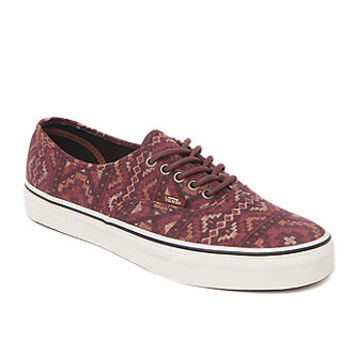 Vans Authentic Tribal Rug Shoes  Mens Shoes  Red -