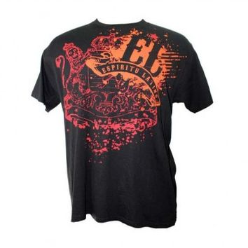 "Men's ""Splash"" Tee by Alma Latina (Black)"