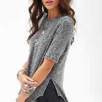 Marled Dolphin Top