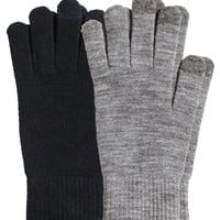 H&M - 2-pack Smartphone Gloves - Black - Men