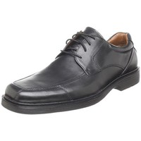 Johnston & Murphy Men`s Pattison Oxford,Black,10 M US