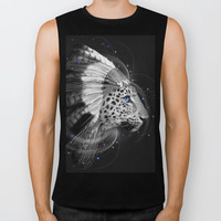Don't Define Your World (Chief of Dreams: Amur Leopard) Biker Tank by soaring anchor designs ⚓ | Society6