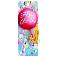 3D HAPPY BIRTHDAY BOOKMARK