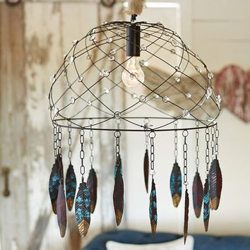 Junk Gypsy Dream Catcher Chandelier