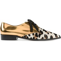 Marni Contrast Lace Up Shoes - Cuccuini - Farfetch.com