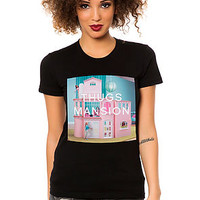 The Thug Mansion Tee in Black