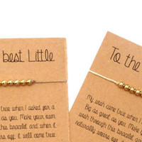 Sorority Bracelet, Big Little Custom Sorority Gifts Jewelry