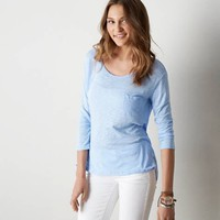 AEO REAL SOFT® FAVORITE POCKET T-SHIRT