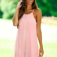 Romancing The Afternoon Dress-Rose