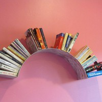Sun Wall Bookshelf by briannakufa on Etsy
