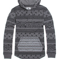 On The Byas Lucas Printed Pullover Hoodie at PacSun.com