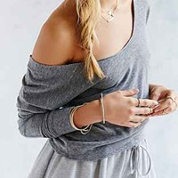 Mouchette Off-The-Shoulder Ballet Top-
