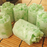COCO LIME COOLER  Scented Chunk Octive Candle 6pk by nikkicandles