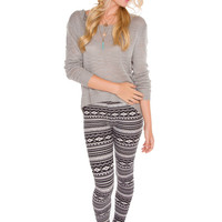 Indie Queen Top - Grey