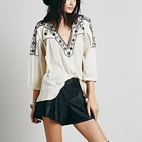 Free People Womens FP New Romantics Bohemia Blouse -