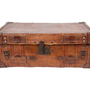 ANTIQUE LEATHER VALISE | curiosities | FLEA | Jayson Home &amp; Garden