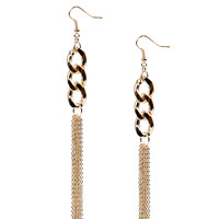 Kira Chain And Tassel Earrings