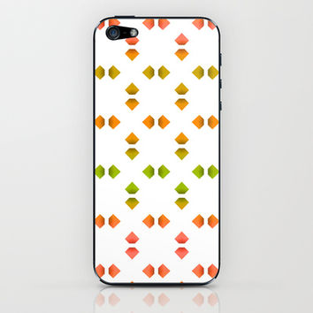 spring pattern   iPhone & iPod Skin by VanessaGF