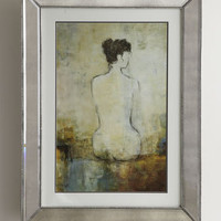 Nude in Mirrored Frame - Horchow