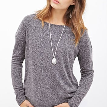 Classic Heathered Sweater