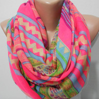Tribal Soft Scarf Shawl Pareo  Women Scarves Trending items pink Spring Scarf Mothers Day Gift ideas For Her Fashion Accessories ScarfClub