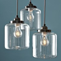 3-Jar Chandelier | west elm