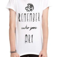 Disney The Lion King Remember Who You Are Girls T-Shirt