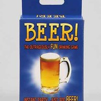 Beer Card Party Game - Urban Outfitters
