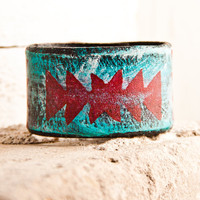 Turquoise Jewelry Native Tribal Geometric Accessories by rainwheel
