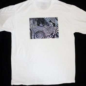 Black and White Artwork tshirt casual comfortable affordable