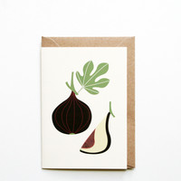 Card by Michoucas Design - Fig - Douglas + Bec