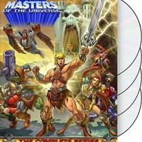 He-Man and the Masters of the Universe - Complete Series (4-DVD)