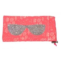 Liberty Print Fabric Capel Pink Glasses Case - Sous les toits de Paris