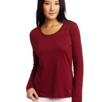 Nautica Sleepwear Women's  Scoop Neck Tee