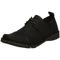 FLY London Men's Ona Oxford,Black,44 EU / 11 D(M) US
